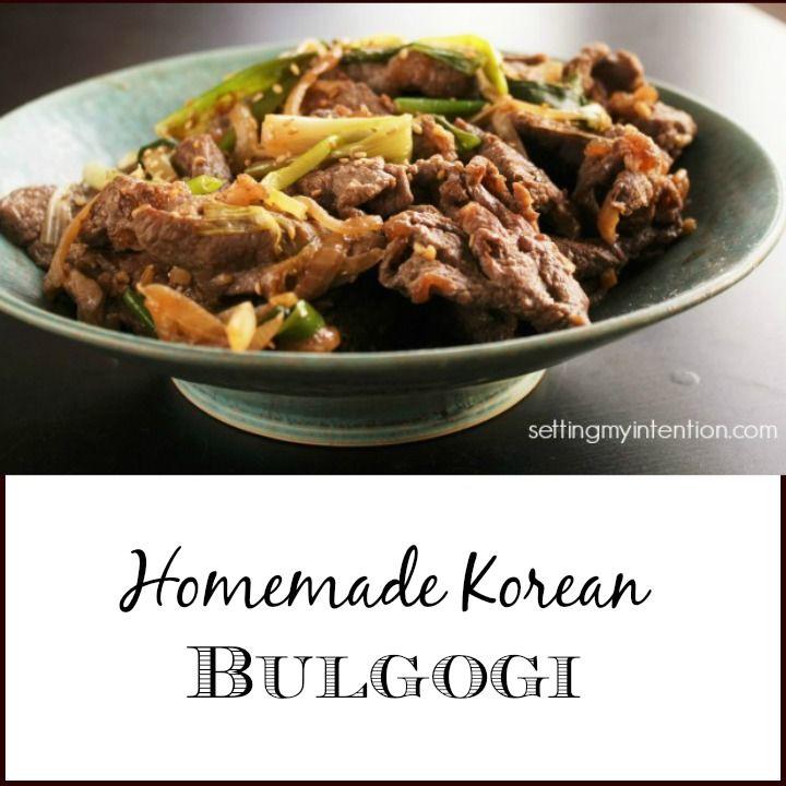 Korean Bulgogi | Little Family Adventure