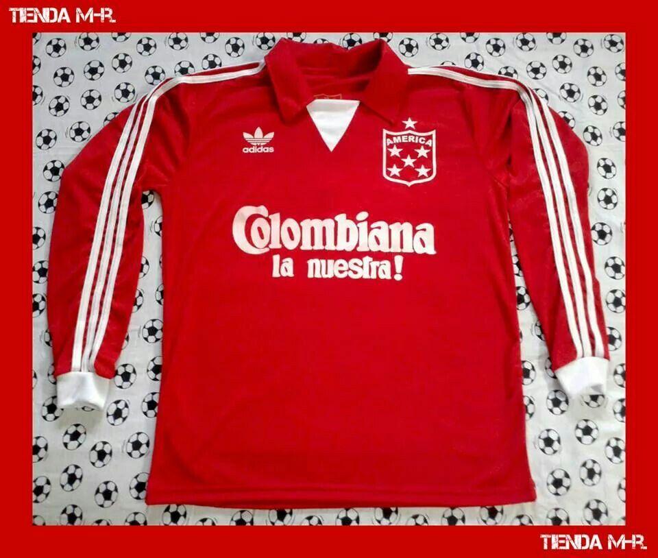 Tiempo de día Celebridad Mal  Camiseta réplica América de Cali 1987. Precio: 50mil pesos (COP). | America  de cali, Cali, Camisetas