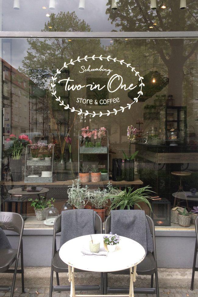 Ladencafs Mbel Mandelsplitter und Magnolien  Cafe