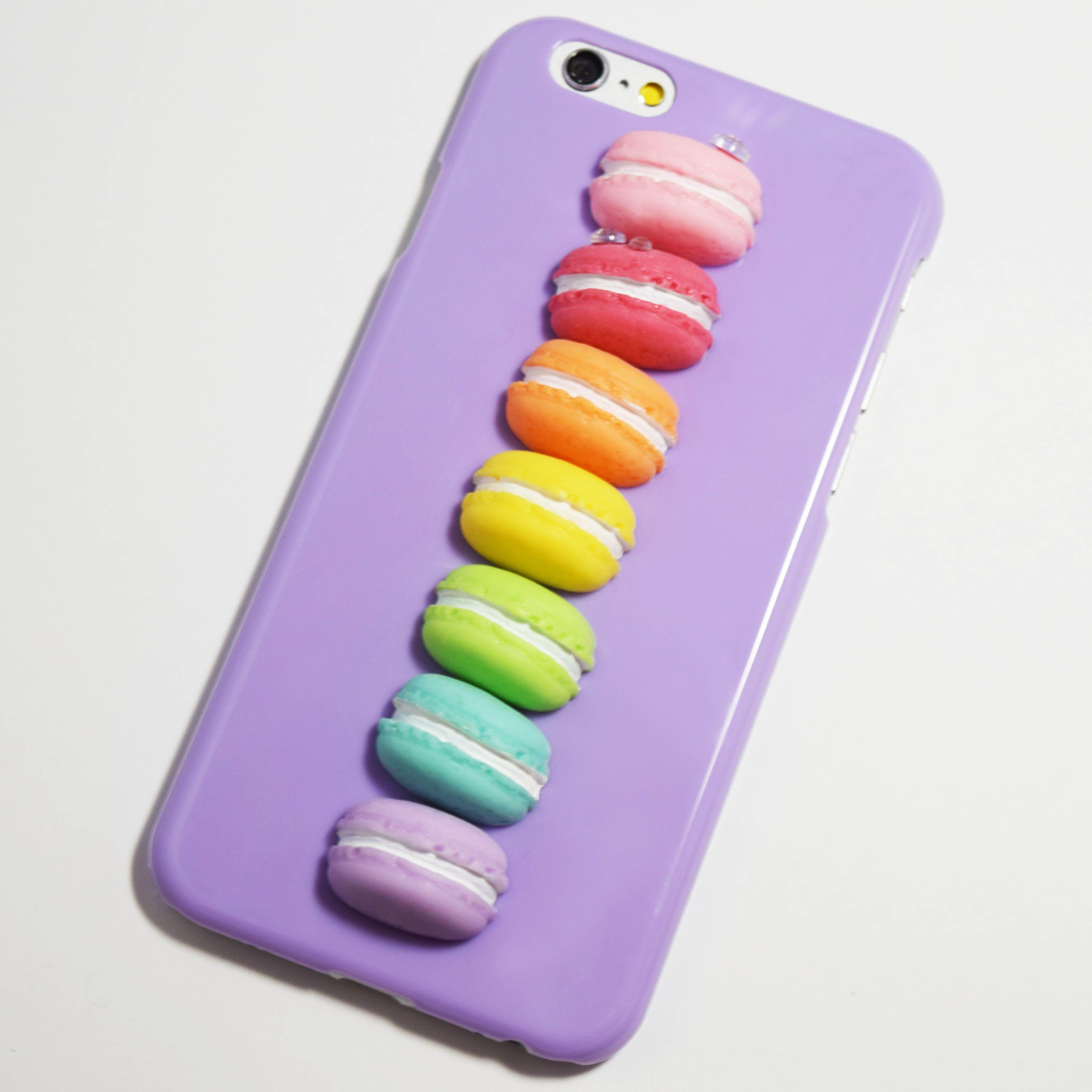Pink 3D Macarons iPhone 6 / 6S Hard Case - Retailite | Iphone ...