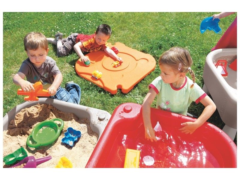 Outdoor Toys For Girls : Sand and water activities table toys for kids toys for girls