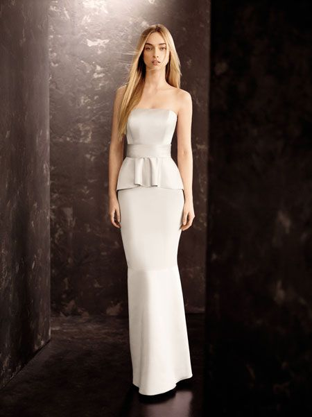 Vera Wang Silver Wedding Dresses