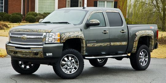 Realtree Camo Chevy Decal Love It Camotruckaccessories - Chevy decals for trucks