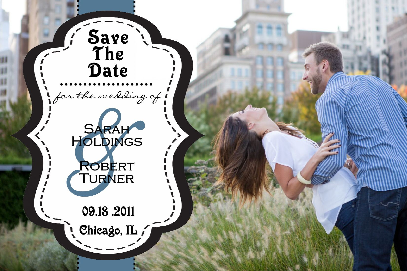 New SAVE THE DATE Designs Are Now Available. More Will Be