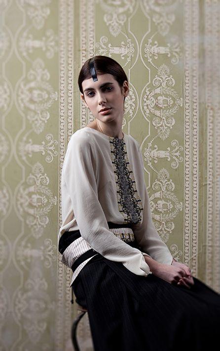 photo+styling elisabetta scarpini model ilaria, casting firenze hair & make up costanza scornaienchi clothing tendresses