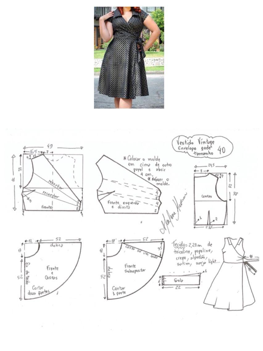 Pin de Gina Cordova Carvajal en ideas | Pinterest | Costura ...