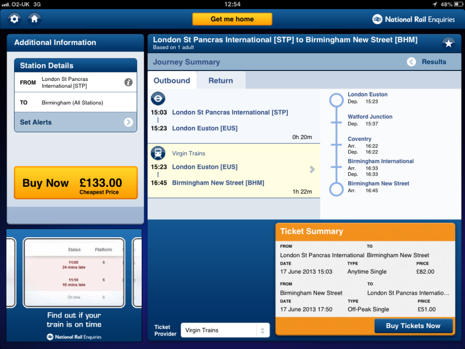 IMImobile National rail, Global mobile, Birmingham news