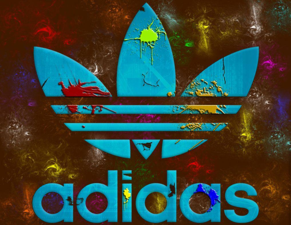 Colourful adidas logo by AmirSakiri on deviantART Adidas