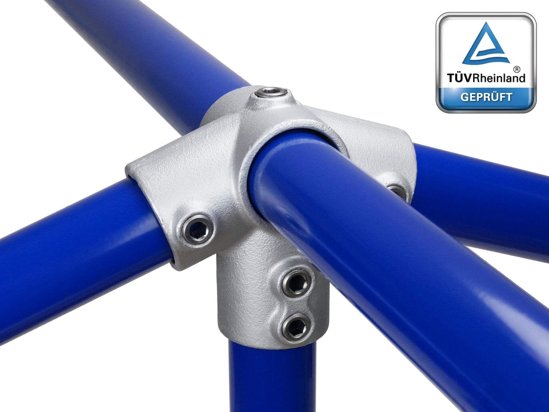 Rohrverbinder Stahlguss Tc 48 3mm 6 4 Dach Giebel