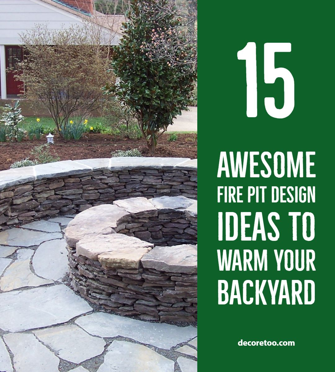 Photo of 15 Awesome Fire Pit Design Ideas to Warm Your Backyard 1
