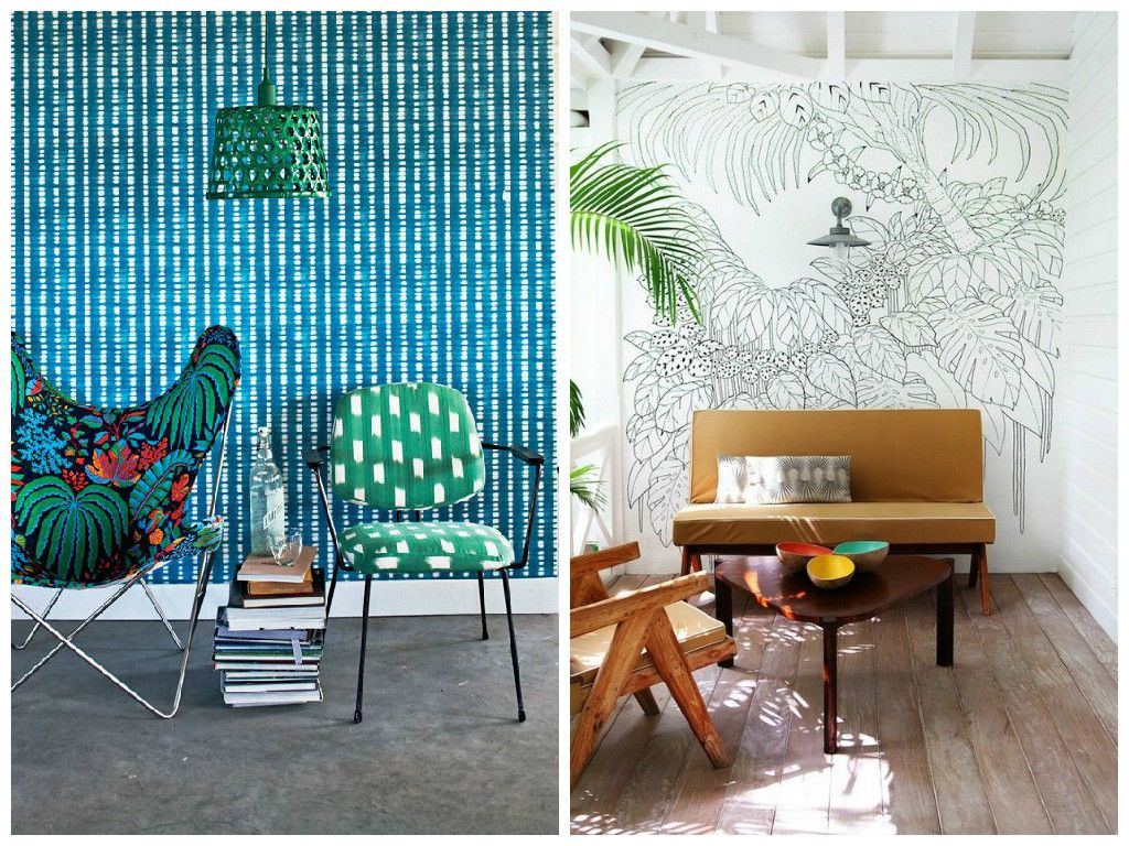 Deco Tendance Tendance Déco Miami Tropical Pinterest Deco Deco
