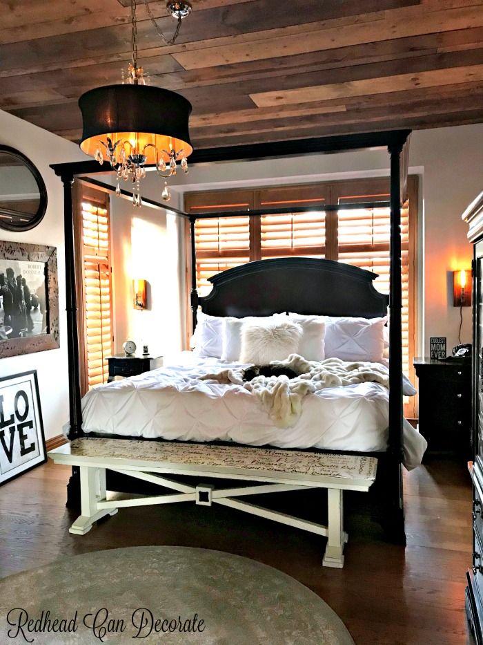 Rustic Romantic Bedroom Ideas: Rustic Romantic Bedroom Makeover