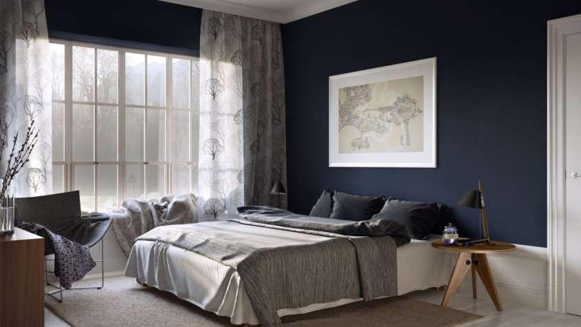 Camera Da Letto Blu : Camera da letto blu e bianca letti letto blu