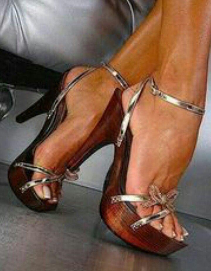 Wooden heels | Bling heels, Heels