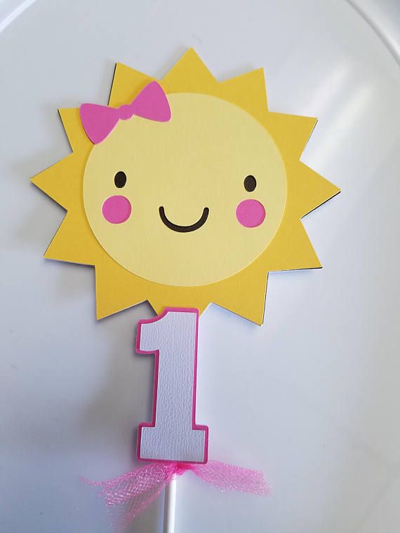 Sun cake topper, You are my sunshine banner, sunshine ...
