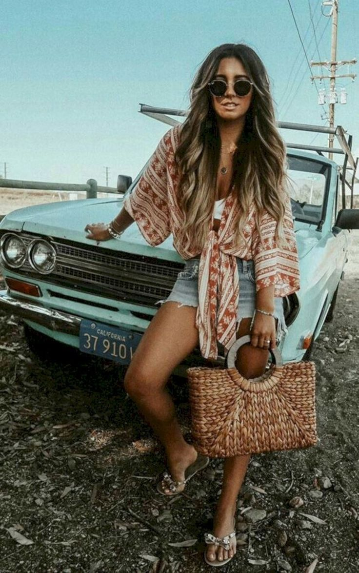 Photo of Moderne Boho Sommer Outfits Ideen 34  #ideen #moderne #outfits #sommer