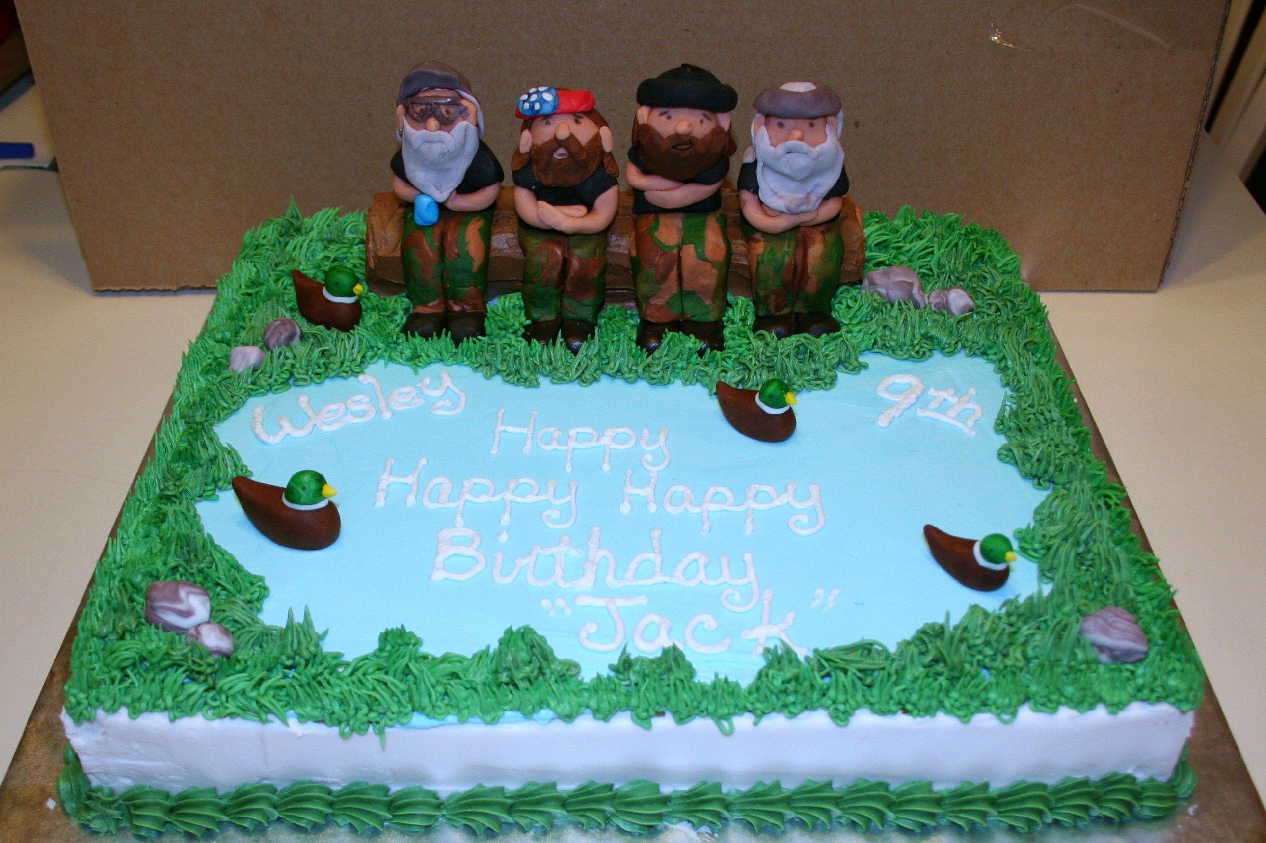 Birthday Cakes Duck Dynasty Birthday Cake Birthday Pinterest
