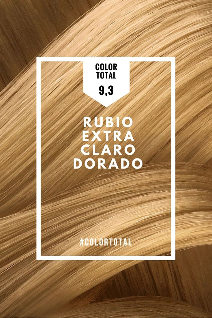 Tonos De Rubio Carta De Colores Descripcion Del Producto 9 3 Rubio Extra Claro Dorado El Tono 9