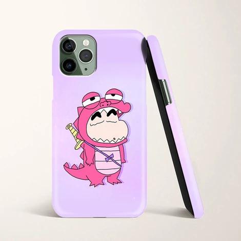 Aesthetics Shin Chan X Pink Dinosaur Costume Iphone 11 Pro Case In 2020 Iphone 11 Pro Case Case Pink Dinosaur