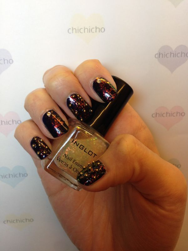 A little rock and roll nails~ | chichicho~ nail art addicts ...