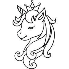 Unicorn Coloring Pages Top 50 Free Printable Online Entrancing Kids Unicorn Printables Unicorn Drawing Unicorn Coloring Pages