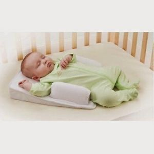 Infant Newborn Baby Anti Spit Milk Roll Pillow Positioner Prevent Flat Head