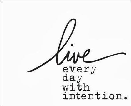 Papercrafting Intentions 2015: Live Every Day With Intention (image)
