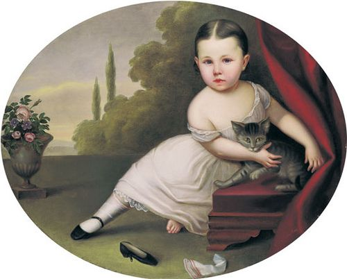 Young Girl and Cat by hunter77721, via Flickr