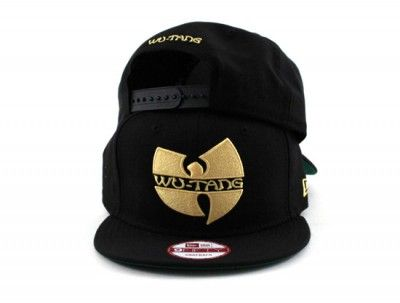 Wu Tang New Era 9Fifty Snapback Hats (Black Green Under Brim ... e499c5ed410