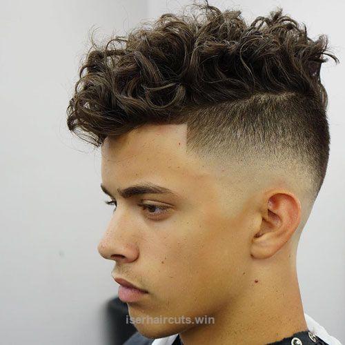Excellent High Skin Fade Messy Medium Length Curly Hair The Post High Skin Fade Messy Medium Length Curly Hair Styles Curly Hair Men Long Hair Styles Men