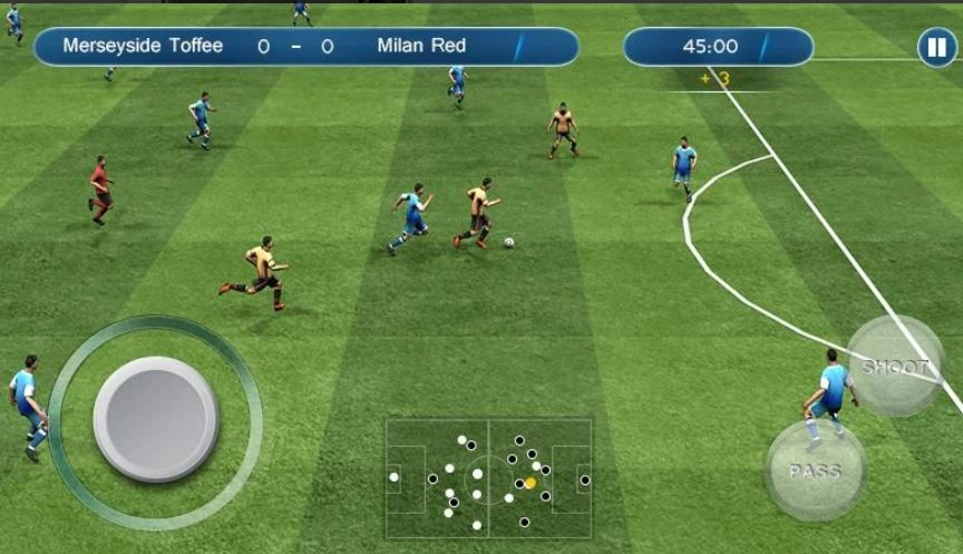 5 Best Soccer Games For Android On Google Play Store Soccer Football Pure Football