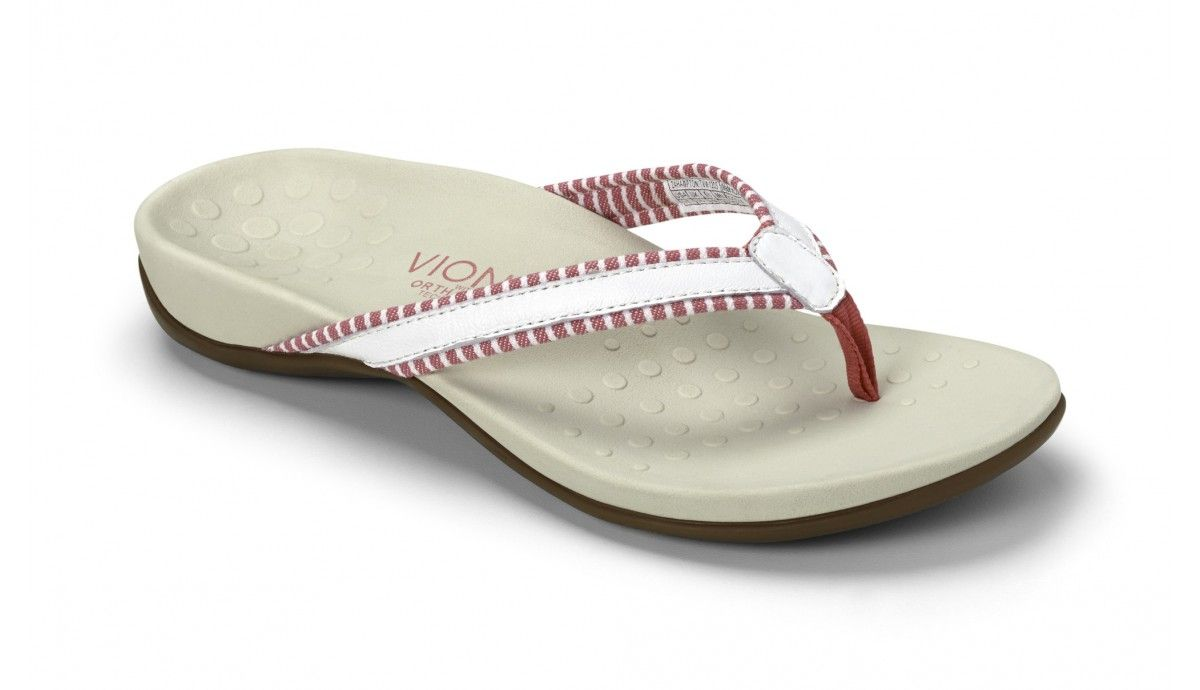 1499d664772 ... flip-flops with arch support. Hampton Toe Post Sandal - Womens Orthotic  Sandals
