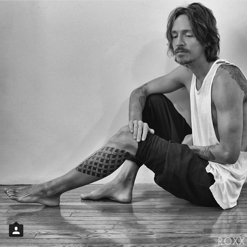 Brandon Boyd From Incubus Tattoo And Photograph By Roxx