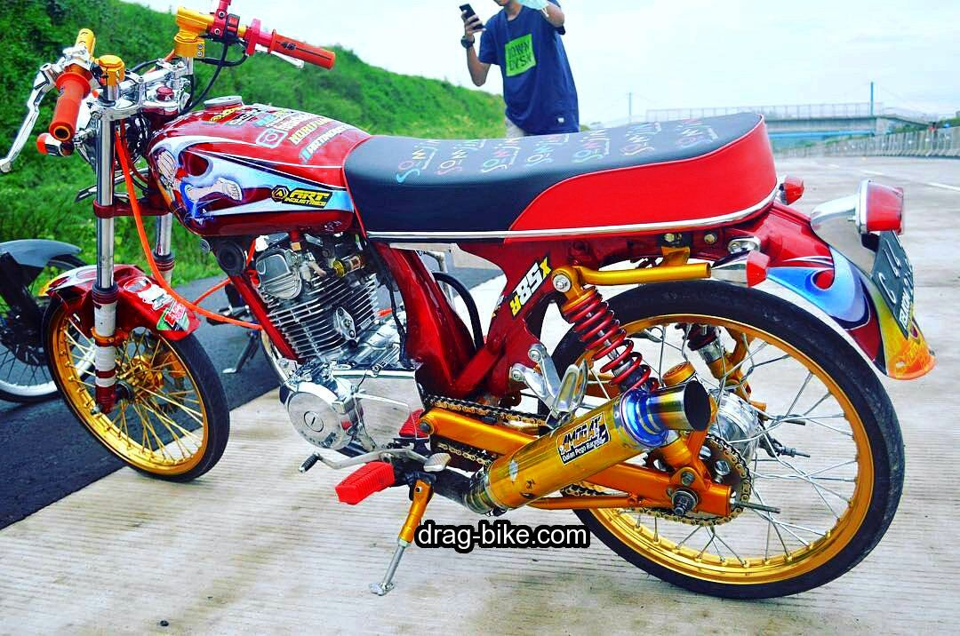 Modifikasi Motor Cb Antik Street Racing Thailook Style Motor