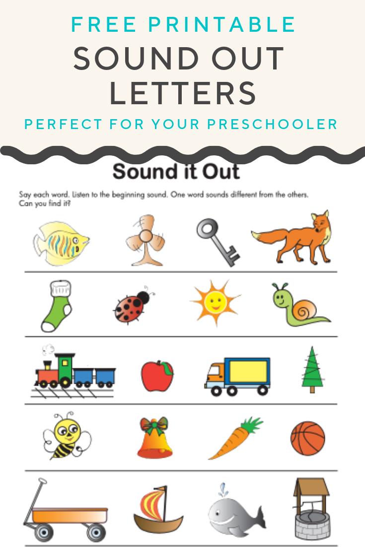 Sound Out Letters Worksheet Education Com Teaching Child To Read Phonics Practice Preschool Lesson Plans [ 1102 x 735 Pixel ]