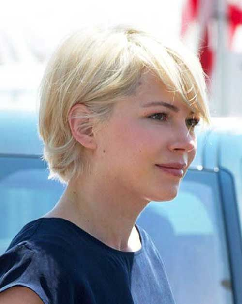 williams short haircut Michelle