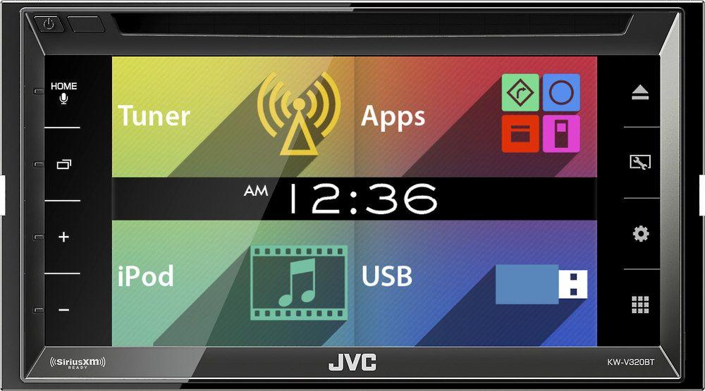 Crutchfield reviews the JVC KW-V320BT DVD multimedia