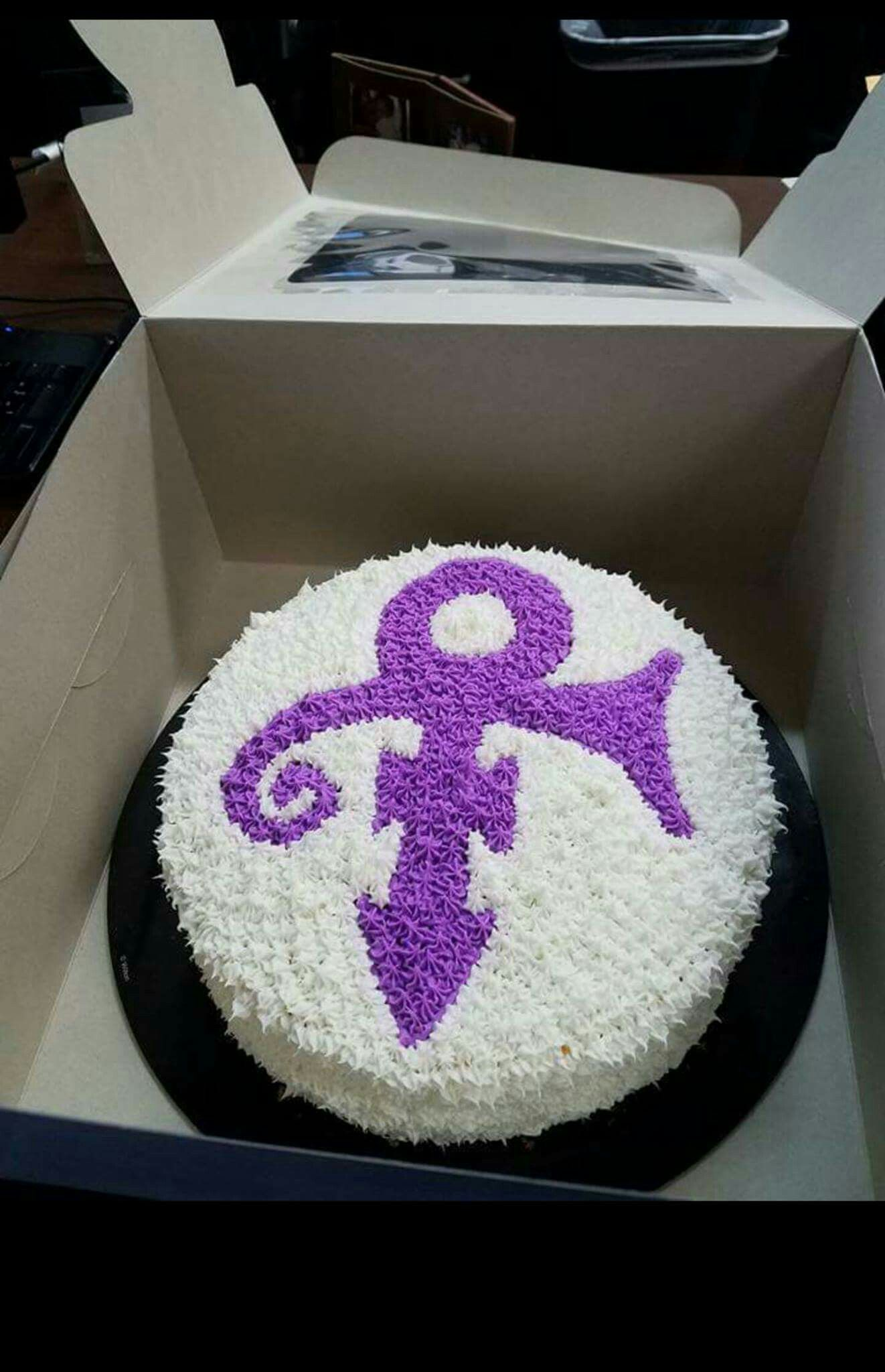 Symbol Birthday Cake Prince themed artwork Pinterest Birthday