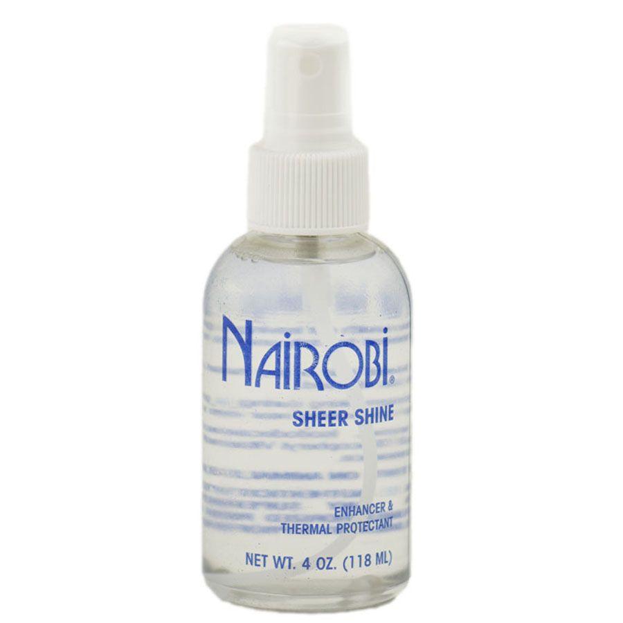 Nairobi Sheer Shine Enhancer Thermal Protectant Thermal Protectant Salon Supplies Nairobi