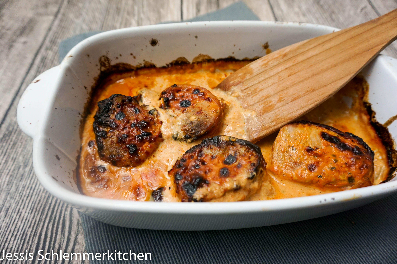 schweinefilet im speckmantel mit tomaten sauce rezept