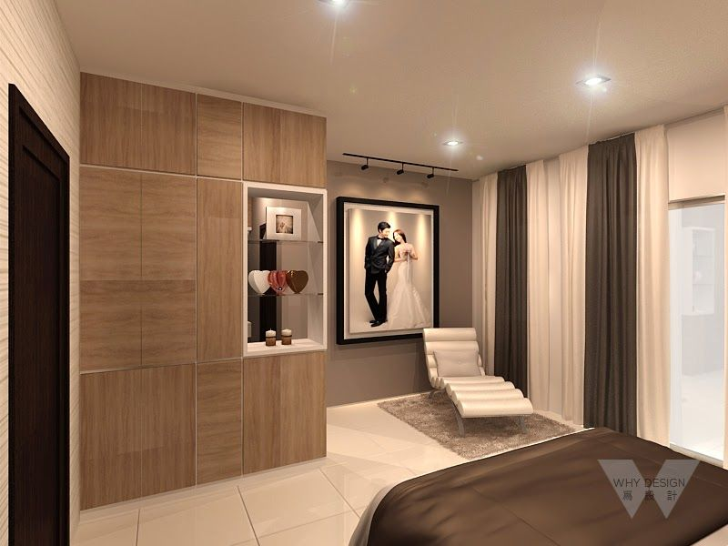 Terrace House Design For Master Bedroom In Kampar Perak Malaysia WHYDESIGN Interior Residential Home MasterBedroom