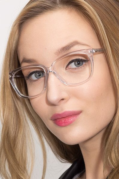 6ade64a792 Escapee Clear Acetate Eyeglasses from EyeBuyDirect.
