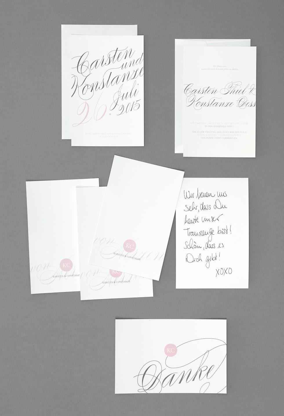 Stilvolle und klassische Texte für eure Hochzeitseinladungen