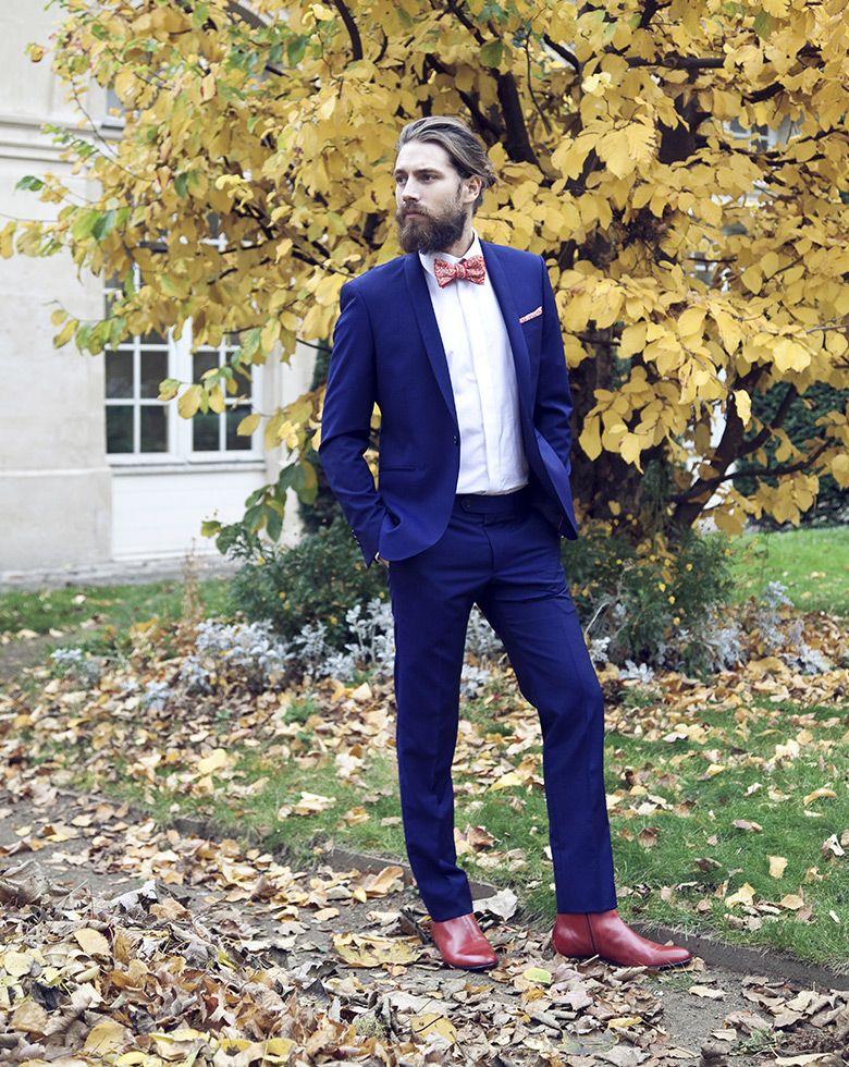 Costume bleu foncé par L apiéceur  style  menstyle  menswear  wedding   groom  getmarried  lapieceur  suit  look  mode  costume  surmesure  mariage 90a4bbe6cc9