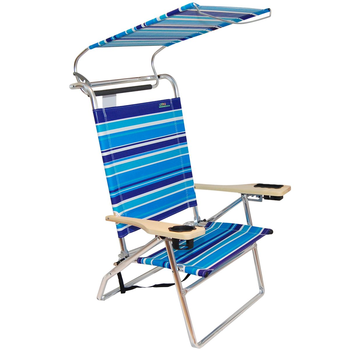 Beach chair with canopy - Light Weight Outdoors Portable Stainless Steel Beach Chair