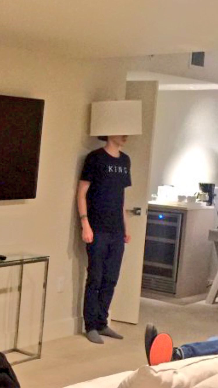 Will is now a lamp shade k bye