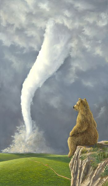 For My Wish List Of Bear Paintings Robert Bissell Contemporary