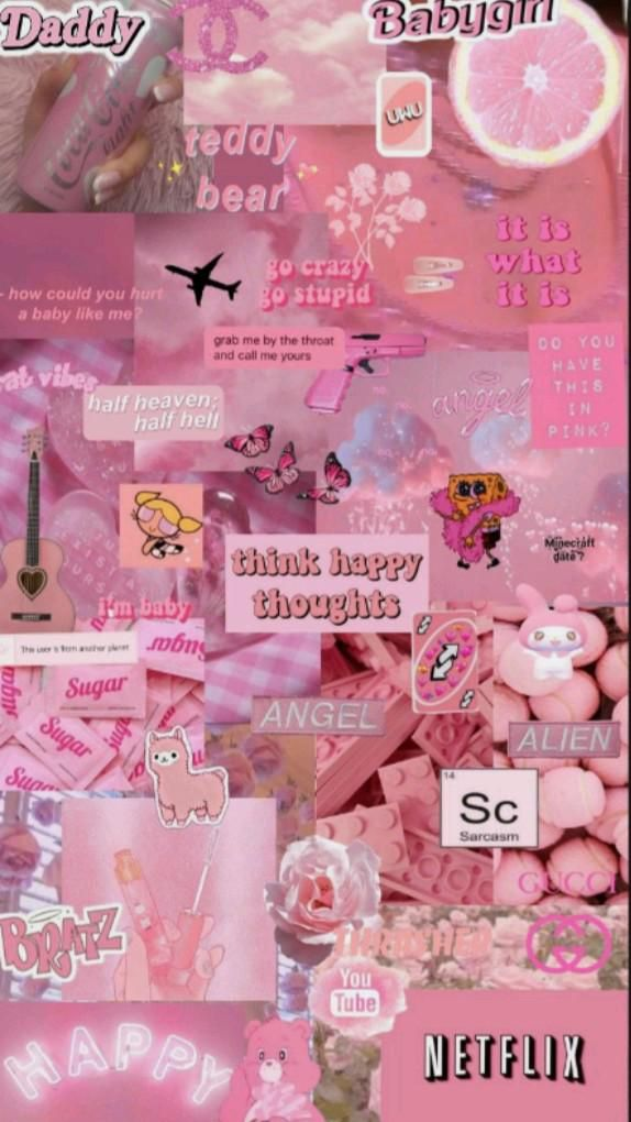 cute wallpapers 💞                Pink ❤️💞