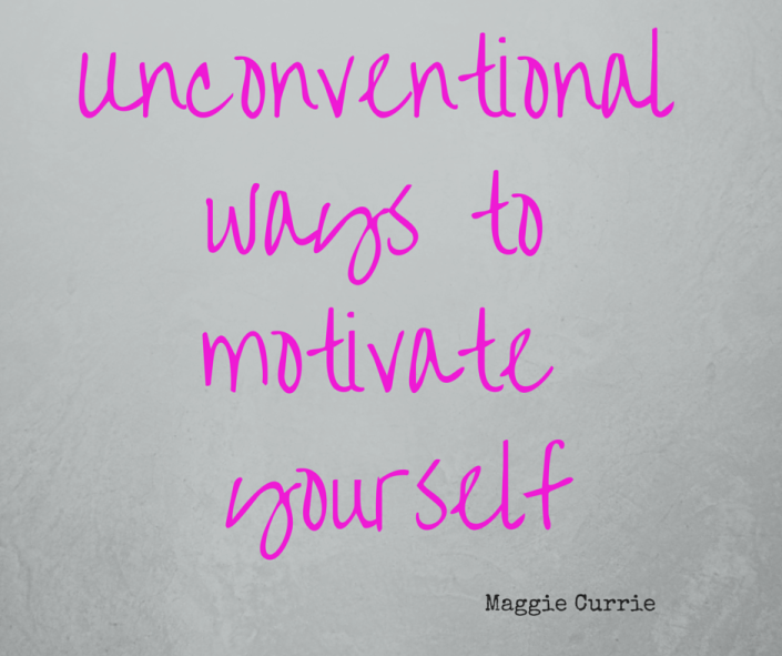 Unconventional ways to motivate yourself -Guest blog