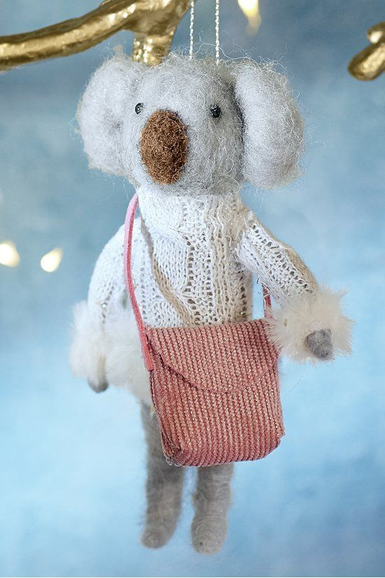 Katerina Koala Ornament -    Add some winter wonder from Down Under to your déc...